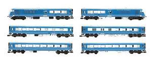 GRAHAM FARISH 'N' GAUGE 371-740 MIDLAND PULLMAN SIX CAR UNIT NANKING BLUE