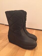 Nine West Womens Size 9 Black Winter Boots
