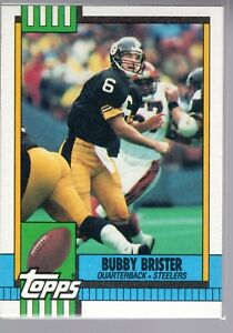 BUBBY BRISTER - 1990 TOPPS #183 - STEELERS