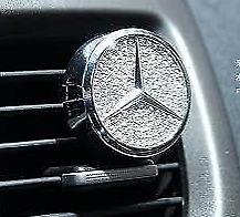 Mercedes AMG strass cristal Swarovski Decoración Diseño ambientador coche