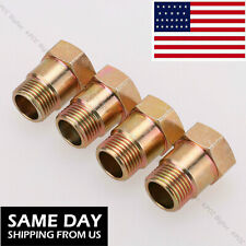 4PCS O2 Oxygen Sensor Test Pipe Extension Spacer Extender Adapter CEL M18X1.5