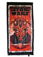 Vintage 90s Star Wars Episode 1 Darth Maul Beach Towel