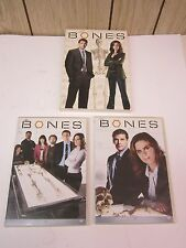 Bones - Season 1 (DVD, 2009, 4-Disc Set, Dual Side)- David Boreanaz, Deschanel