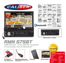 Autoradio Multimedia Embarqué GPS, Video, SD, USB Bluetooth RMN575BT Caliber