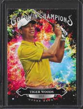 New listing 2020 Upper Deck Goodwin Tiger Woods Splash OF Color Insert PGA Golf Card