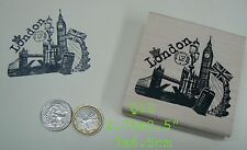 Q12 London, England Rubber Stamp