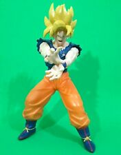 "Dragon Ball Z Super Saiyan Goku SS 10"" DX Vinyl Banpresto Figure 2007"