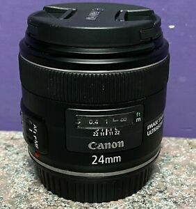 Ultrasonic Canon 24mm Lens Working