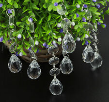 30X Clear Xmas Tree Hanging Decorations Christmas Drops Festival Party Ornaments