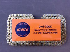 112 Link 219 Go Kart Chain Oke GOLD BEST PRICE/QUALITY ISO 9001 Certified Chain