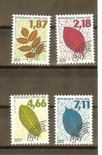 TIMBRES PREOBLITERES YVERT N° 236 à 39 COTE: €8,50 FEUILLES