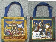 New tote hand bag toy Christmas bear angel owl skunk moose Joy to All bunny deer