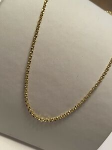 585 Gold Kette Gelbgold Erbskette Halskette 45cm,2,2gramm,Neue Kette+Etikett