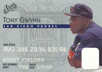 Tony Gwynn 1995 Studio Donruss #25 San Diego Padres baseball card