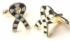 Newcastle Scarf Crested Sports Cufflinks (N179) Gift Boxed