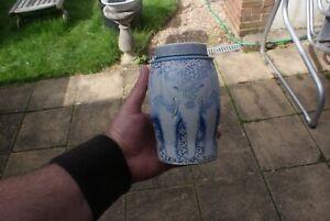 Williamson Elephant Tea Caddy Tin