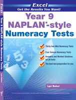Excel Year 9 NAPLAN - Style Numeracy Tests