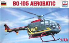 ESCI 1:48 KIT IN PLASTICA ELICOTTERO BO-105 HEERESFLIEGER AEROBATIC ART 4081