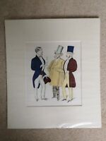 Raoul Dufy Print. Three Gentlemen.