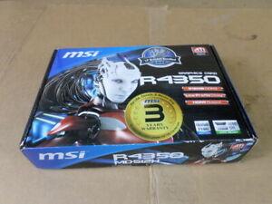 MSI Micro-Star Int'l Co. R4350 512MB DDR3 Graphics Card