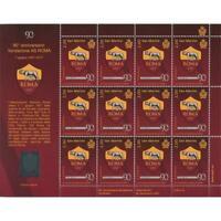 Foglietto 90° fondazione AS Roma 1927-2017 San Marino