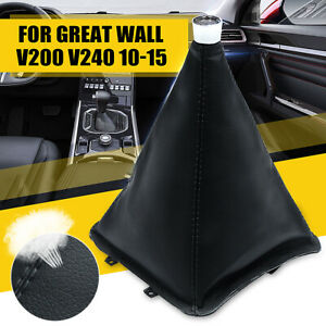 For Great Wall V200 V240 2010-2015 Manual MT Shift Lever Boot Cover Gaiter AU