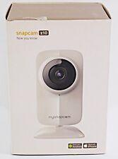 "Snapcam Z10 HD WiFi Network Camera 3"" x 3.5"" x 4.75"" White"