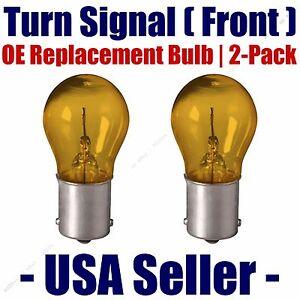 Front Turn Signal/Blinker Light Bulb 2pk Fits Listed Rolls-Royce Vehicles 7507NA