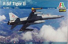 F -5F Tiger II Fighter Plastic Kit 1:72 Model 1382 ITALERI