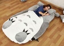 Giant big Comfortable Totoro Bed Sleeping Bag Kids Mattresses Bed Bag 120*80CM