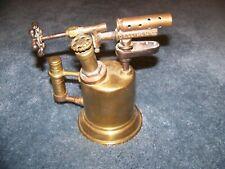 VINTAGE ANTIQUE COLLECTIBLE Otto Bernz Pump In Handle BRASS BLOW TORCH.