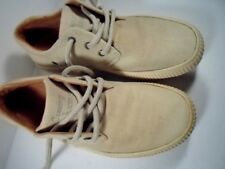 Tommy Bahama Canvas Khaki Brown Casual Shoes Sea Watch Size 7 Us EUC
