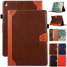 "For iPad 7th 8th 10.2"" 2020/ 9.7"" 6th 5th/Air/Mini Leather Flip Stand Case Cover"