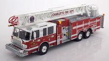 1:43 Ixo Smeat 105 Rear Mount Ladder Charlotte Fire Department