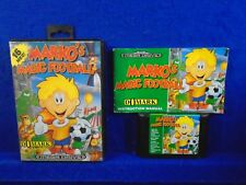 Sega Mega Drive MARKO'S MAGIC FOOTBALL Game Boxed COMPLETE Platformer PAL