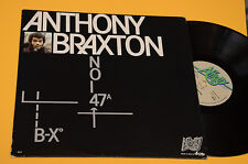 ANTHONY BRAXTON LP TOP FREE JAZZ ITALY PRESS EX