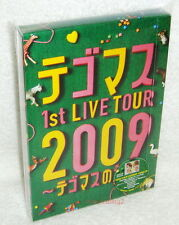 Japan News Tegomass 1st Live Tour 2009 Taiwan Ltd 2-DVD