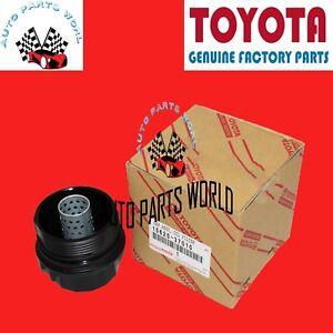 GENUINE TOYOTA COROLLA PRIUS MATRIX CT200h iM xD 4CYL OIL FILTER CAP 15620-37010