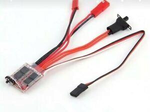 Rc car crawler mini 20A brushed motor speed controller ESC wpl 1/16 scale