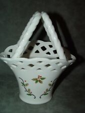 Mikasa RL040 Holiday Lace China Christmas Basket 7,5 inches