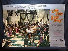 FOTOBUSTA CINEMA - CITTY CITTY BANG BANG - DICK VAN DYKE - 1968 - FANTASTICO -05