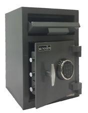 SOUTHEASTERN Money Drop Depository Safe Box Quick Electronic Lock W/Back up key