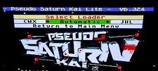 Pseudo Saturn Kai Newest version Sega Saturn Action Replay Plus, Play Backups!