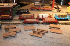 kleines Bastelset H0 Ladegut 1:87 Rohrtransport IDEENWERK für offene GT-Wagons 5