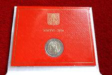 2 euros commémorative du Vatican 2016