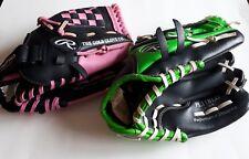 "Lot of 2 Rawlings baseball gloves - both 11"", RHT, ships from Canada"