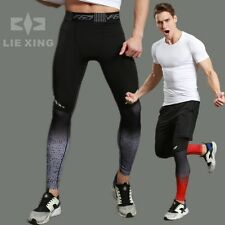 Stylish Men Boy Track Stretch Football Training Leggings Workout Trousers Pants