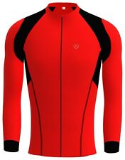 Mens Cycling Jersey Full Sleeve Winter Racing Thermal Wear Biking Jacket