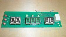 Pachislo Slot Machine Credit / Win Board J0110-02 Originally from Olympia Bikini