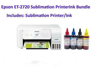 Epson ET-2720 Sublimation Ink Bundle Sublimation Printer / Sublimation Ink